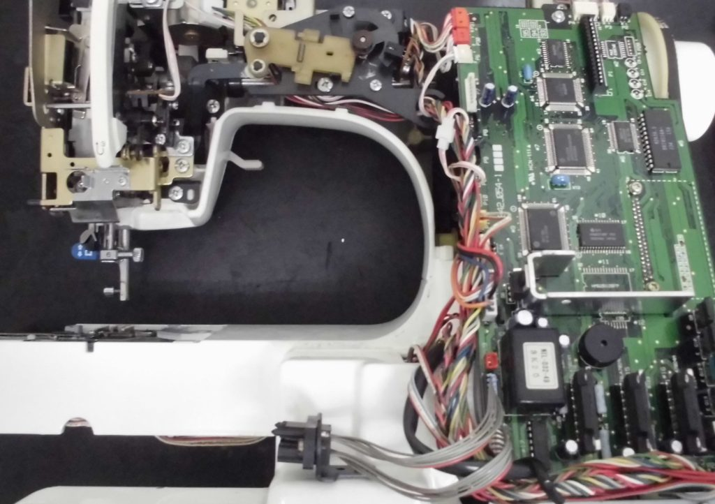 ZZ3-B897(ミモレL)の分解オーバーホールメンテナンス ブラザーミシン修理