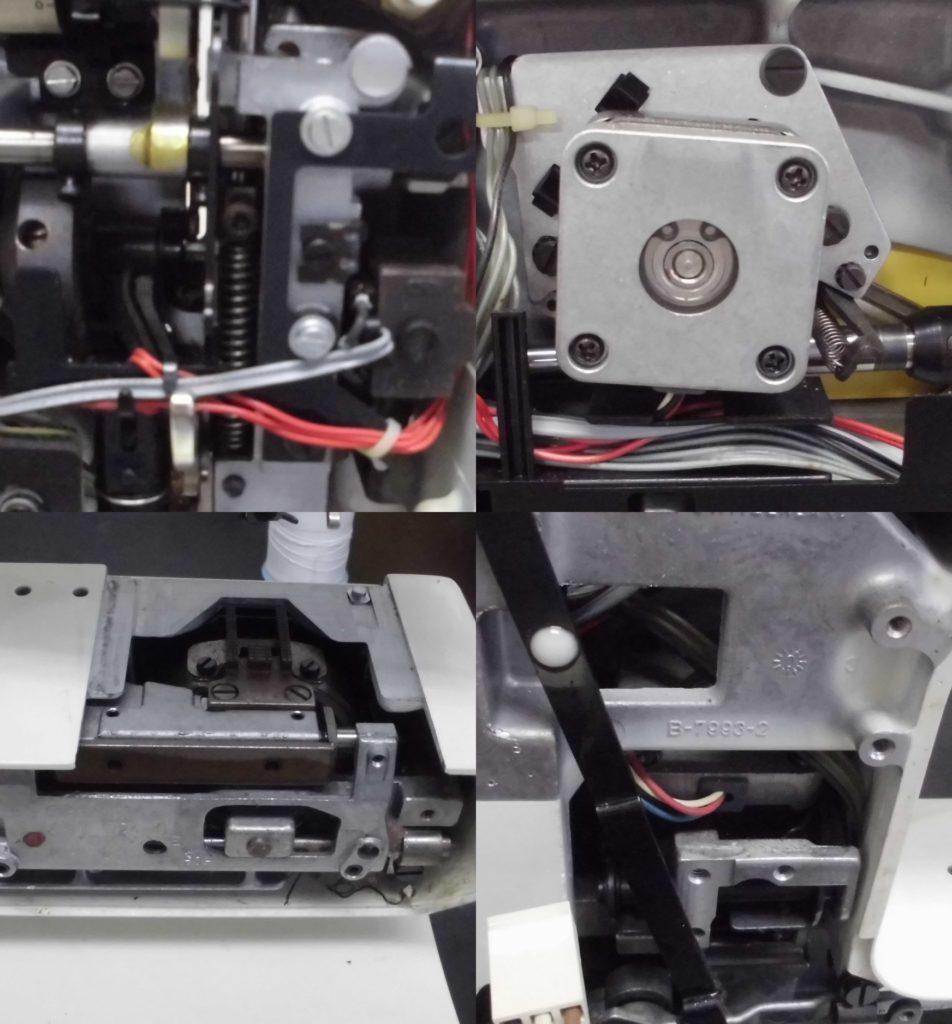 ホリデーヌ1240の故障、不具合 布を送らない、動かない、針位置がおかしい