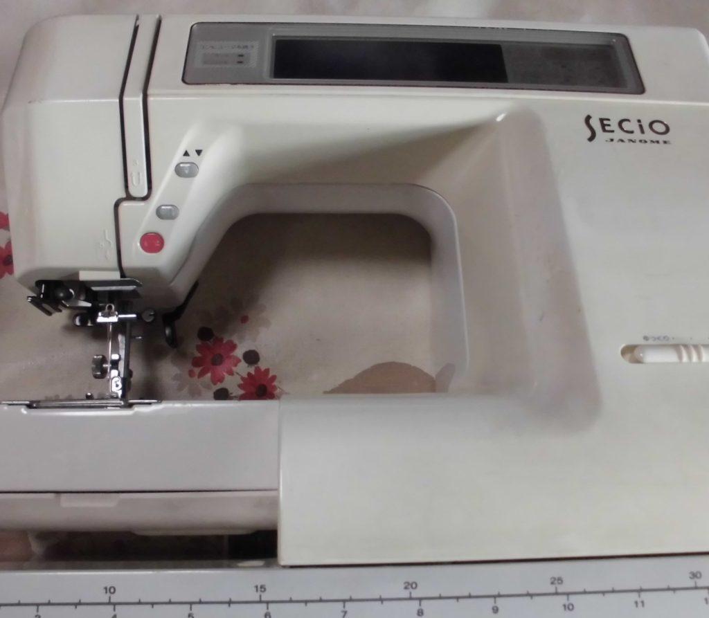 ジャノメミシン修理|セシオ8210|動かない、縫えない、エラー