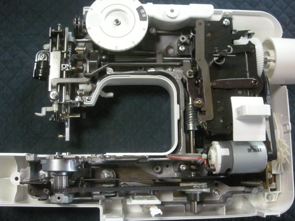 EL115(A11-OR)の分解オーバーホールメンテナンス修理|brotherミシン