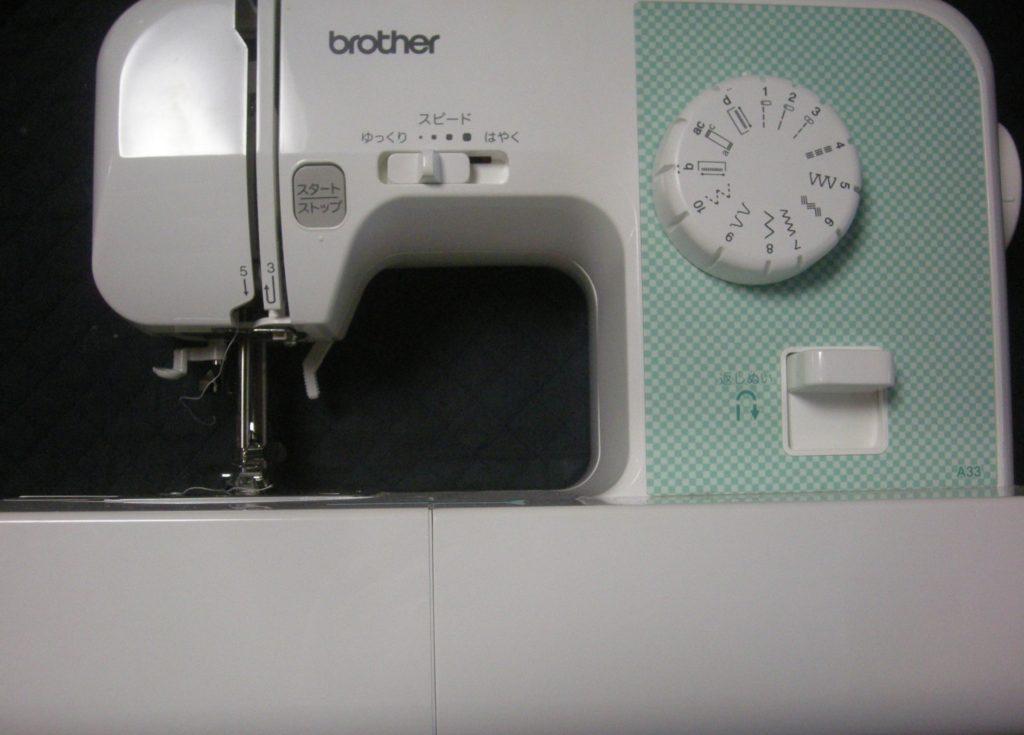 brotherミシン修理|EL117|A33|針が緩く布を貫通せず縫えない