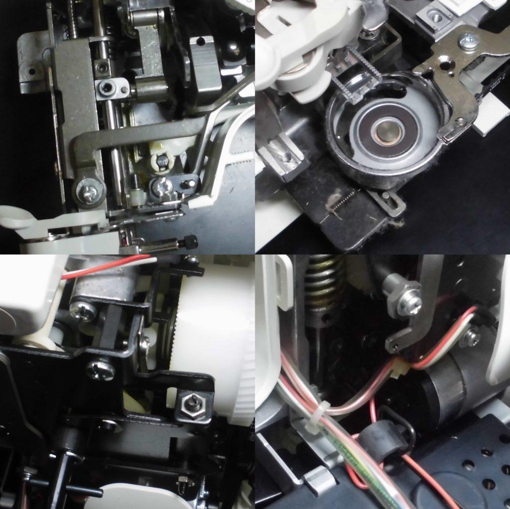 A35-LGの故障や不具合 縫えない、針棒がグラグラする、布に針が刺さらない