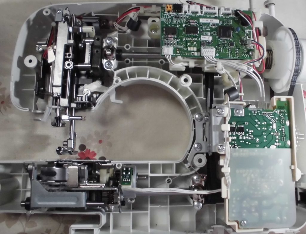 アニュドールブランⅡ(CPS48)の分解オーバーホールメンテナンス修理|ブラザーミシン