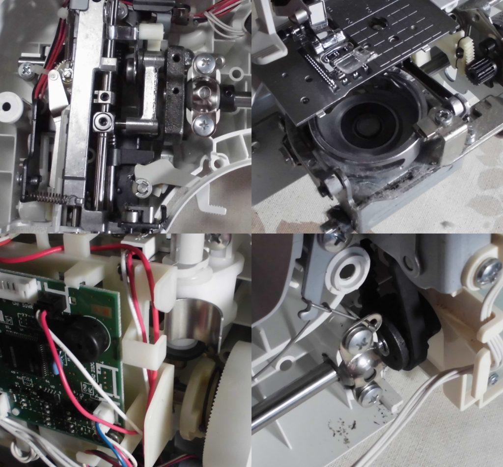 CPS48の故障や不具合|エラーE6、はずみ車が重い、ガタガタ音、縫えない