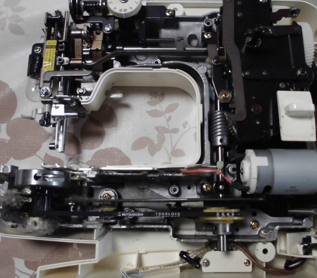 EL130(Affect)の分解オーバーホールメンテナンス修理|brotherミシン