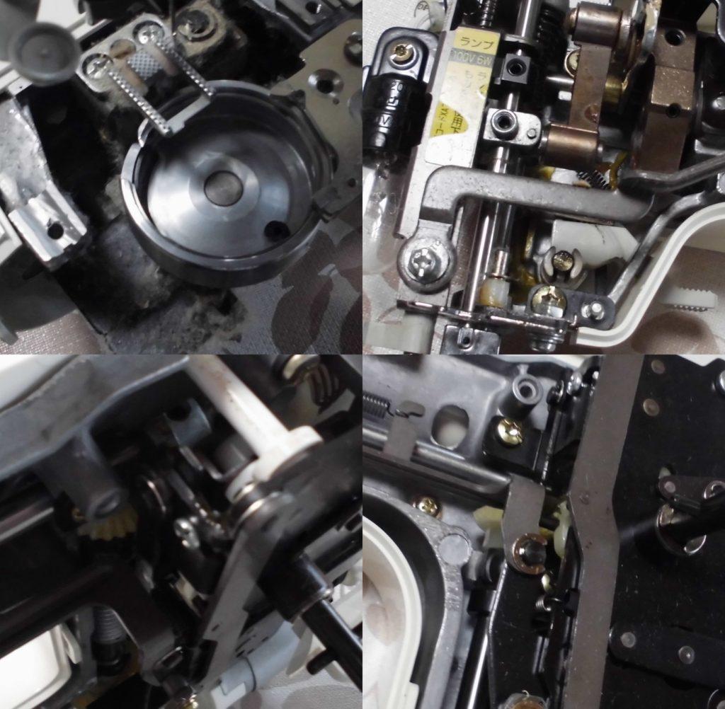 EL130の故障や不具合|下糸を拾わない、釜が回らない、縫えない