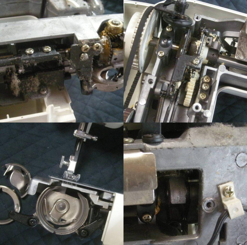 AG-001の故障や不具合|下糸が切れる、縫えない