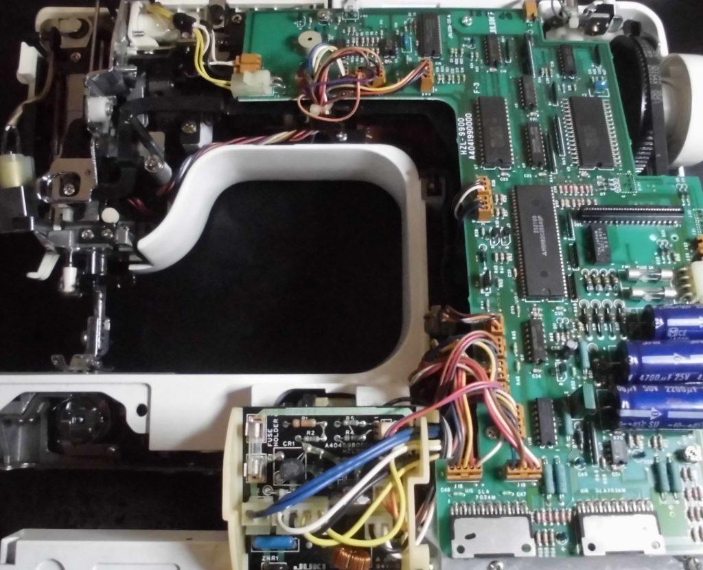 AT-3800(ぬいひめEX)の分解オーバーホールメンテナンス修理|JUKIミシン