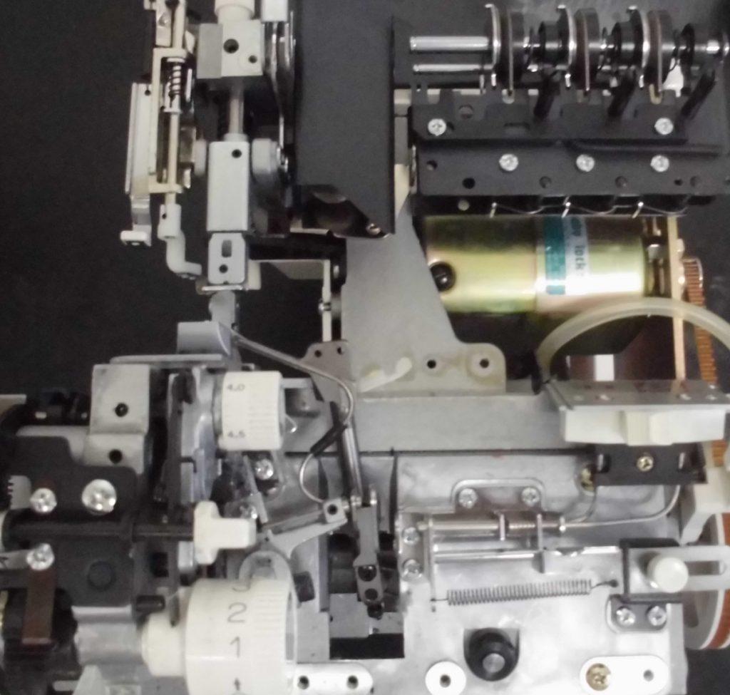 BL341(衣縫人)の分解オーバーホールメンテナンス修理 babylockミシン