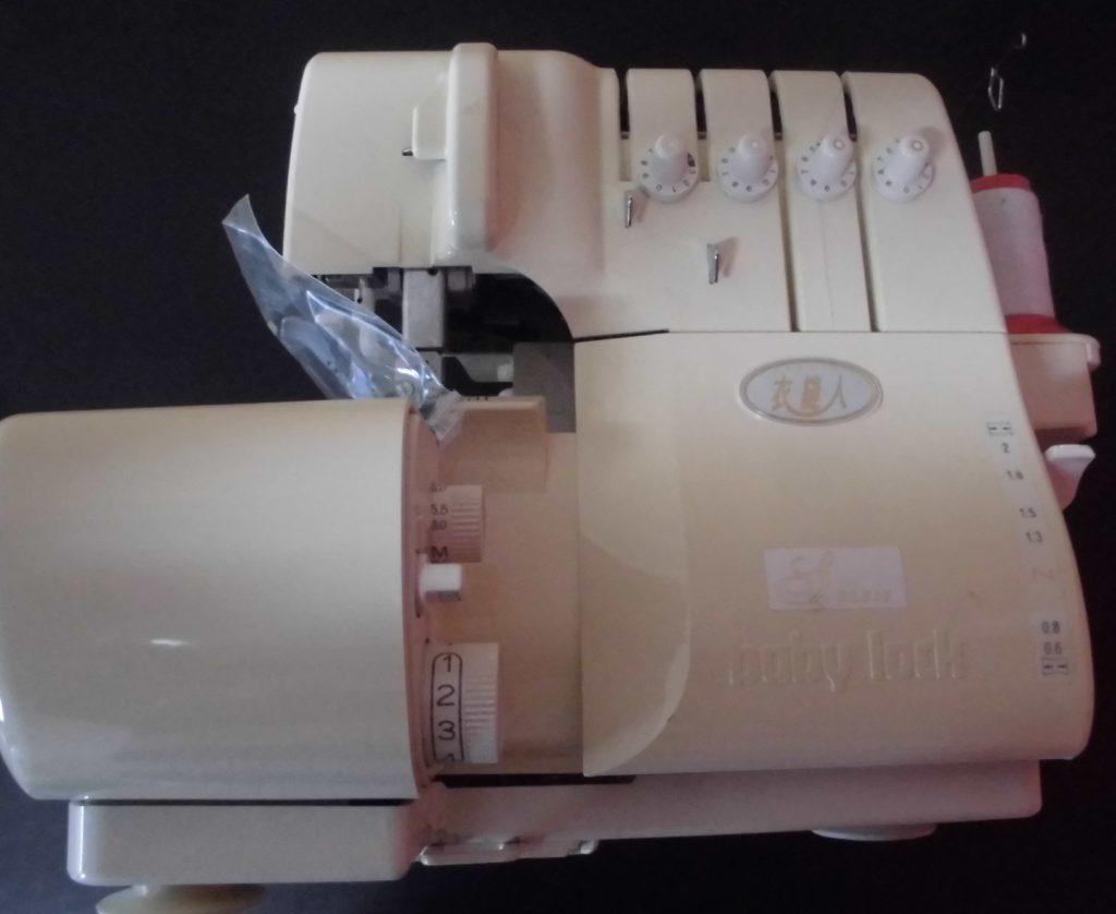 (株)ジューキbabylockミシン修理|BL515|衣縫人|部品が折れた