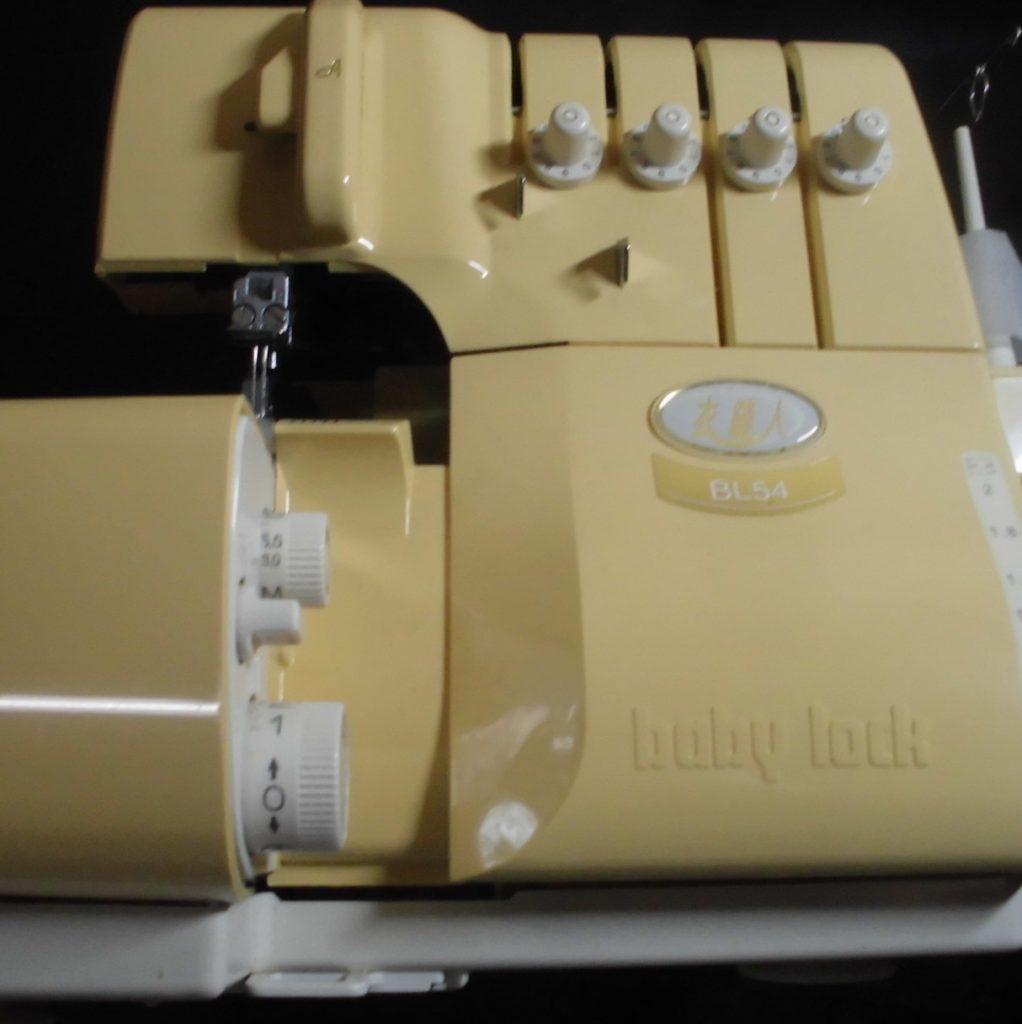 (株)ジューキbabylockミシン修理|BL54|衣縫人|糸が通らない(縫えない)