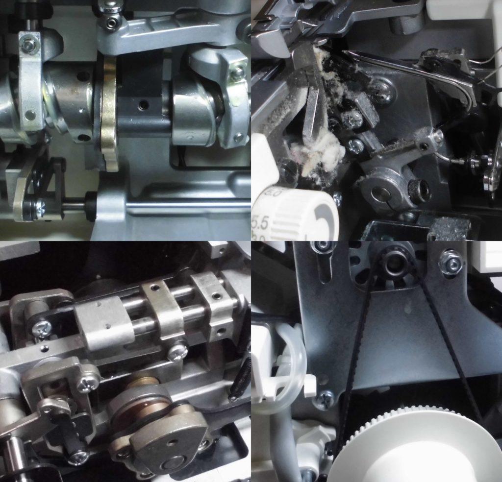 衣縫人(BL57EX)の分解オーバーホールメンテナンス修理|(株)ジューキbabylockミシン