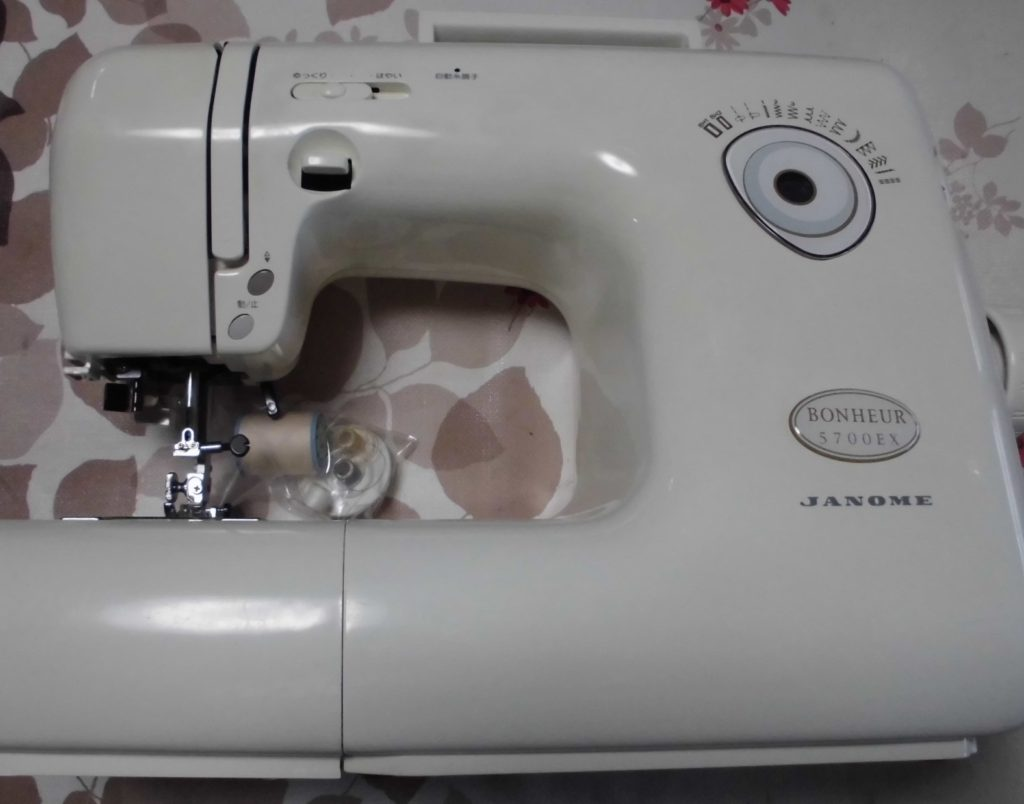 JANOMEミシン修理|Bonheur5700EX|返し縫いが出来ない|全体メンテナンス