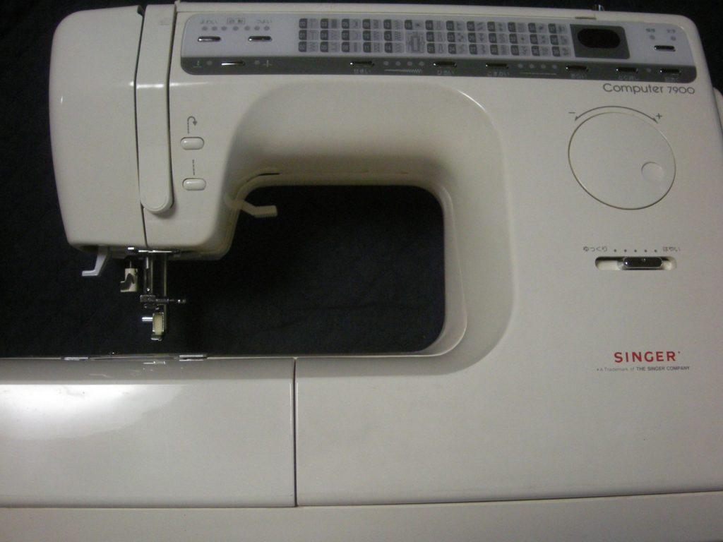 SINGERミシン修理|Comuter7900|はずみ車が回らない