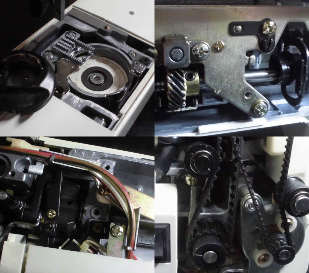 Cheerio(LIMITED970)の全体メンテナンス修理|ジャノメコンピューターミシン