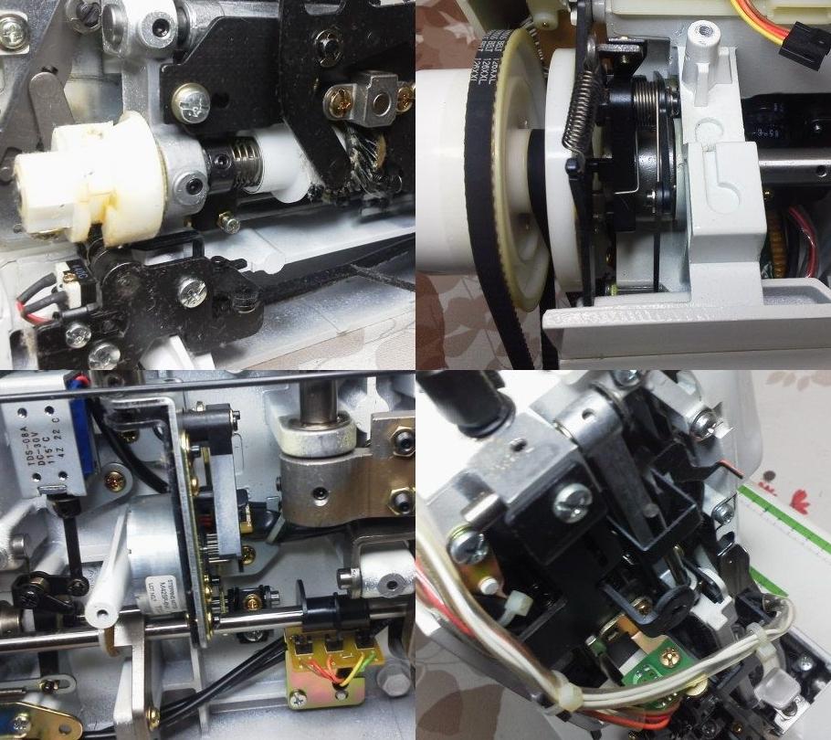CK1000の分解オーバーホールメンテナンス修理|JANOMEミシン
