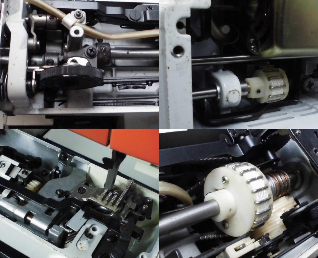 ZZ3-B761(コンパルエース)の分解オーバーホールメンテナンス修理|brotherミシン