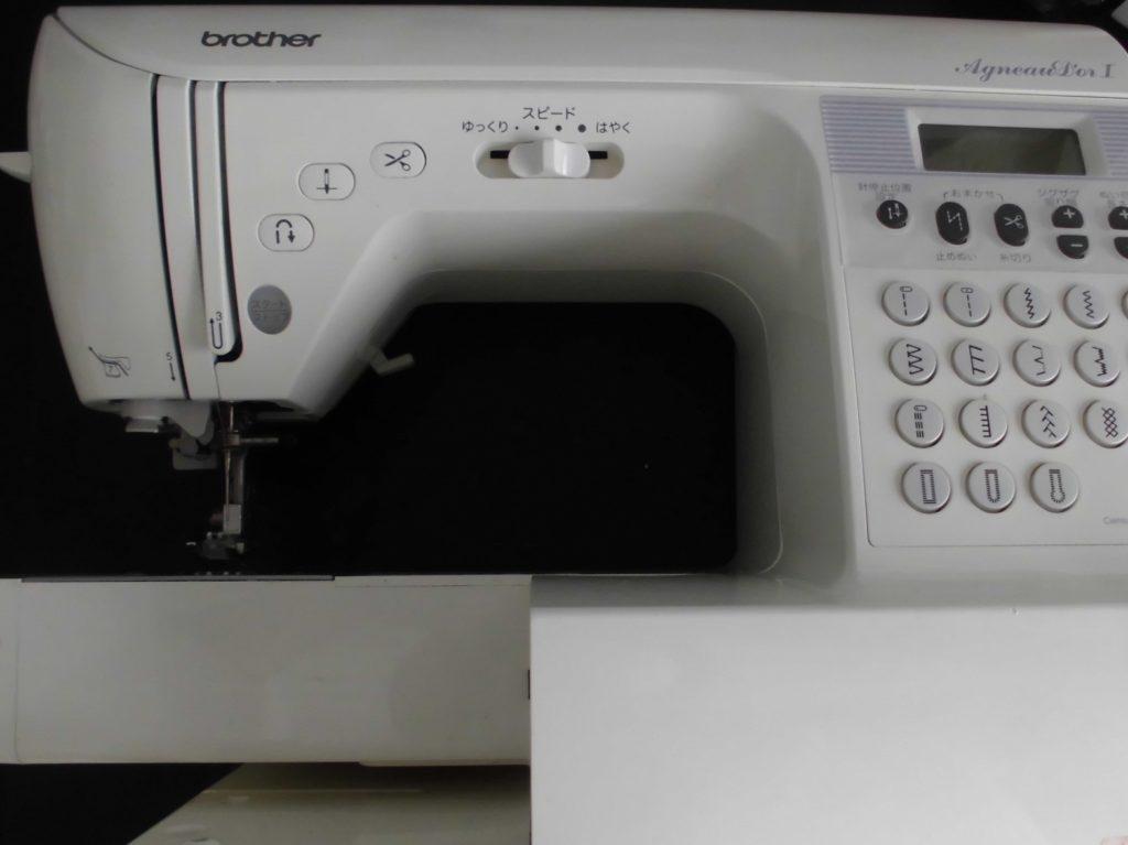 ブラザーミシン修理|アニュドールⅠ|CPS70|糸が絡み縫えない
