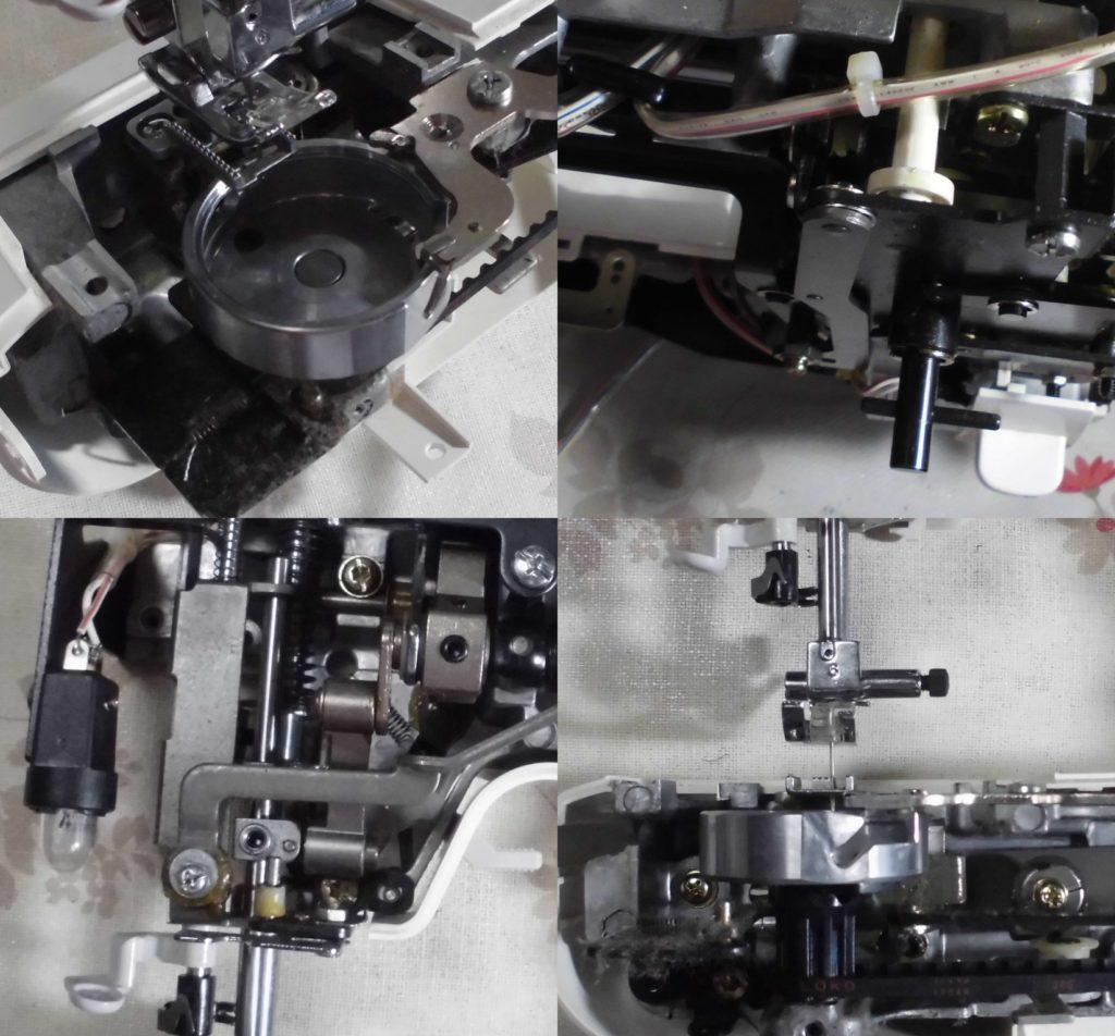 EL135の故障や不具合 縫えない、下糸をすくわない、返し縫いしない