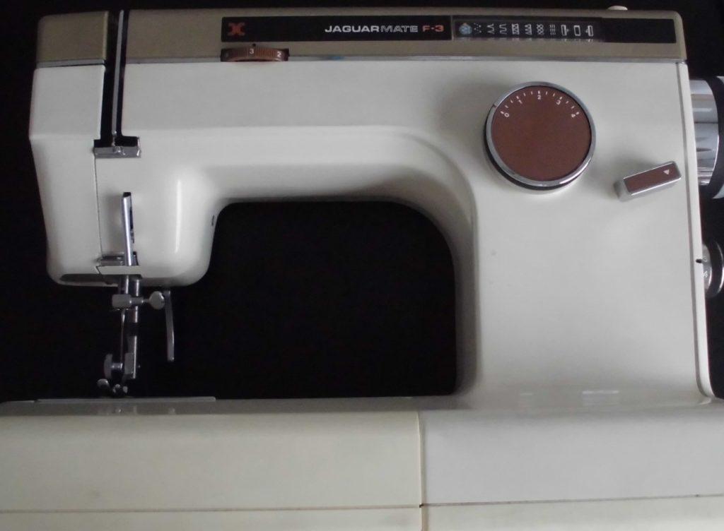 JAGUARミシン修理|ジャガーメイトF-3|糸調子不良、ジグザグが縫えない