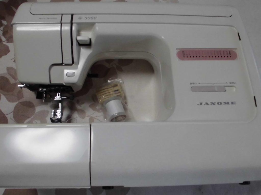 JANOMEミシン修理|3300|針があたり縫えない|針が折れる