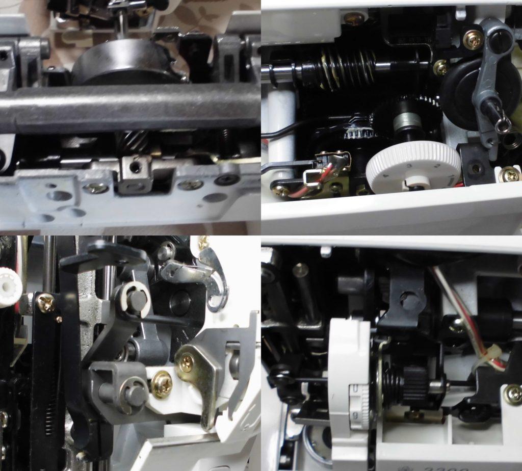 ジャノメ3300の分解オーバーホールメンテナンス修理|JANOMEミシン