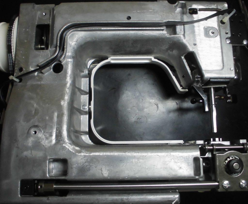 JE-102の分解オーバーホールメンテナンス修理|ジャノメミシン