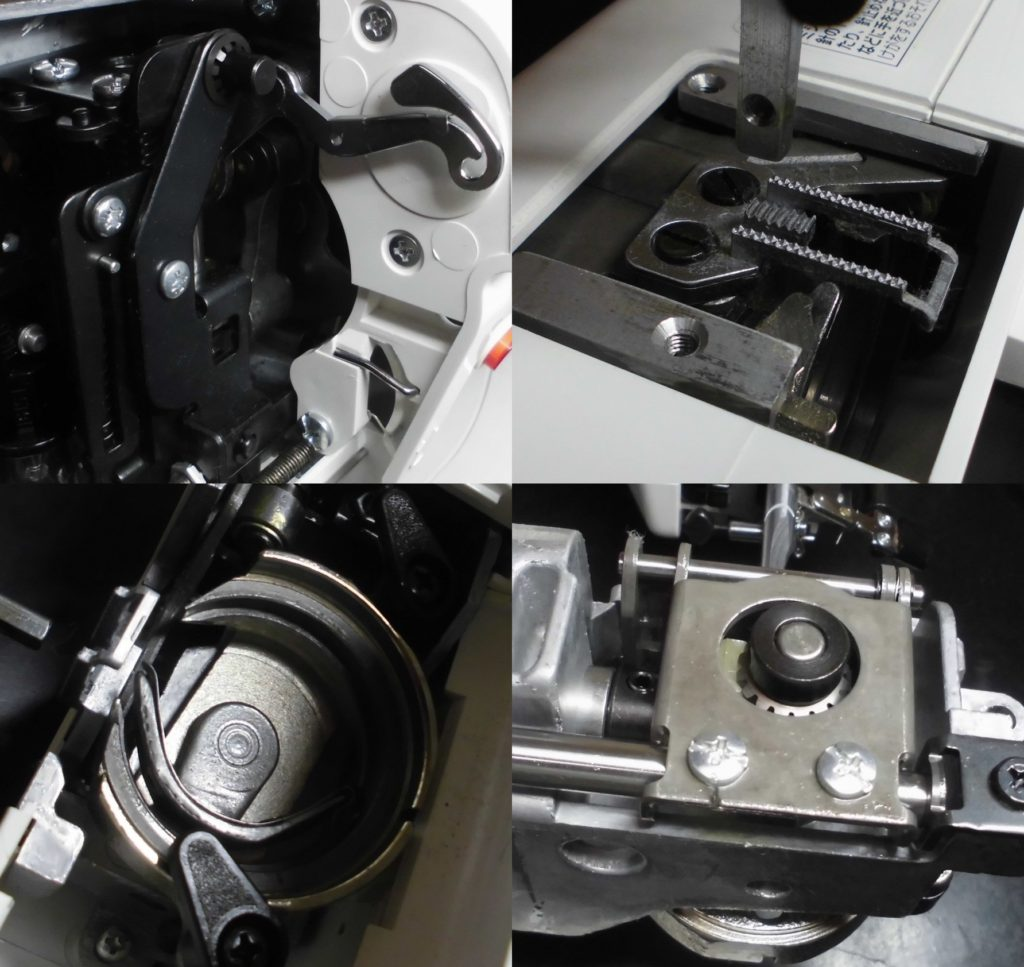 ジャノメJE-102の故障や不具合|動かない、糸絡み、縫えない、糸調子不良