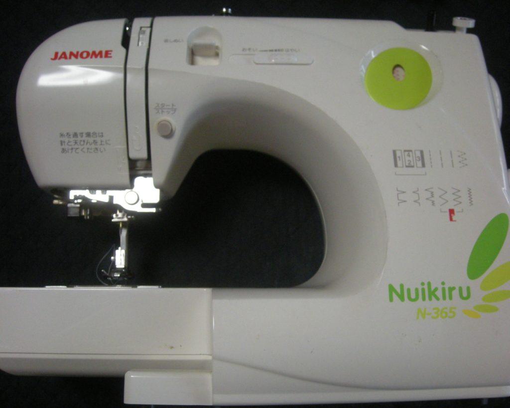 JANOMEミシン修理|N-365|Nuikiru|下糸がグチャグチャになり縫えない