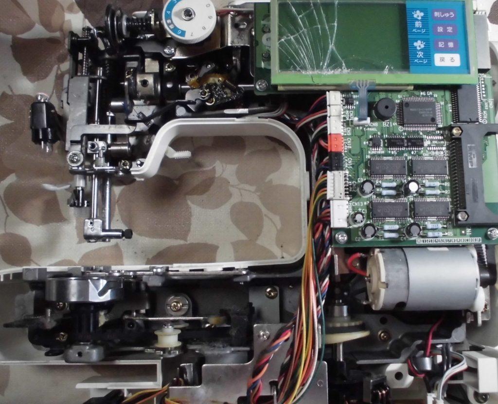P-5000(ZZ3-B140)の分解オーバーホールメンテナンス修理|ブラザーミシン