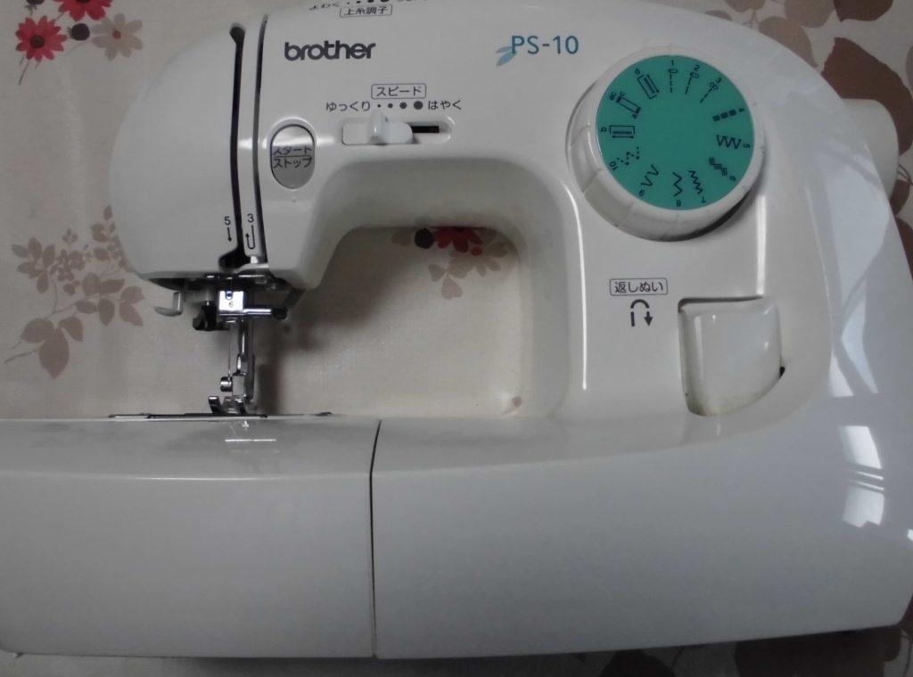 brotherミシン修理|EL125|PS-10|下糸をすくわない、縫えない