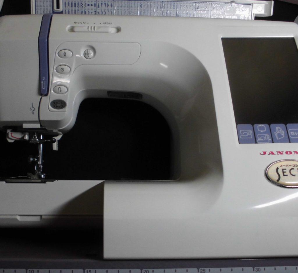 ジャノメミシン修理|スーパーセシオ|ジャノメ850型|液晶不良