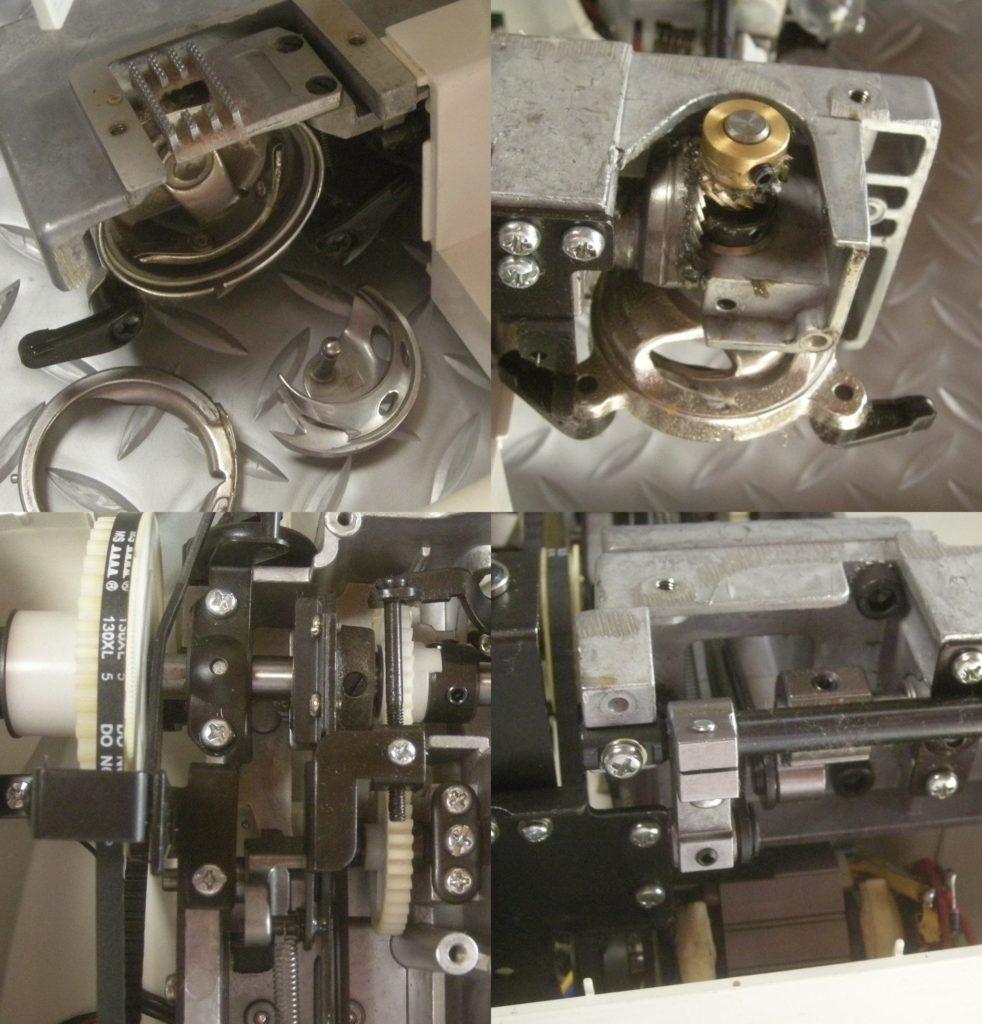 AG-002Nの故障や不具合|下糸が絡み縫えない、糸が切れる