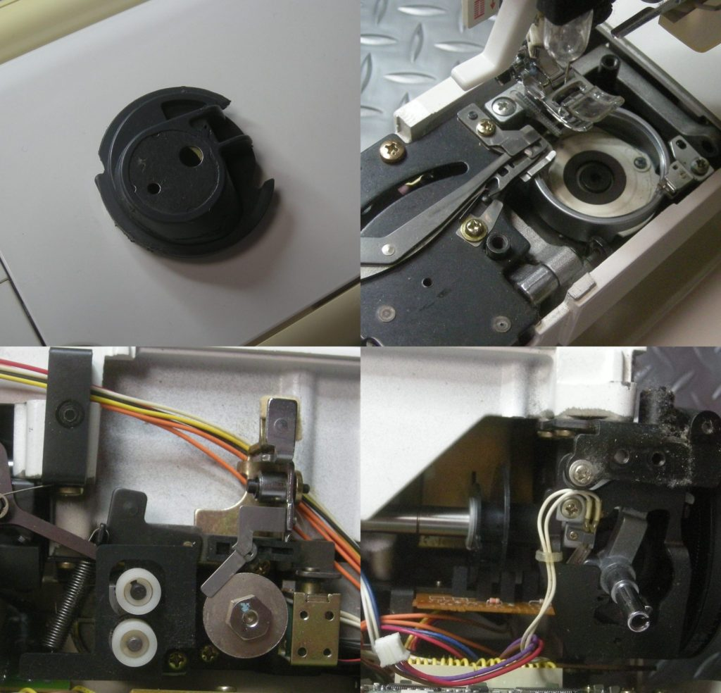 Computer9700(アプリコット)の分解オーバーホールメンテナンス修理|SINGERミシン