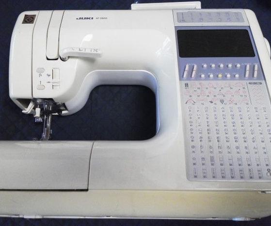 JUKIミシン修理|AT-3800|ぬいひめEX|全体メンテナンス