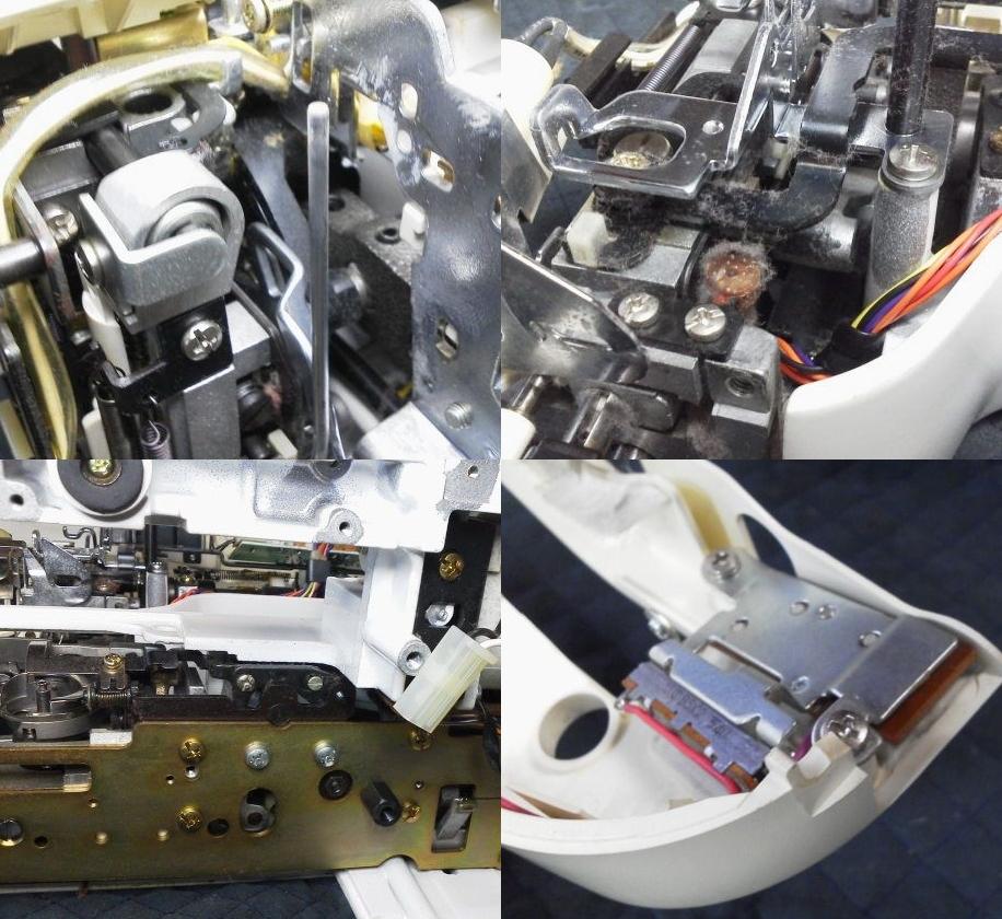 AT-3800の故障や不具合 スタートボタンの反応が悪い、縫えない、針が折れる、押えに針があたる