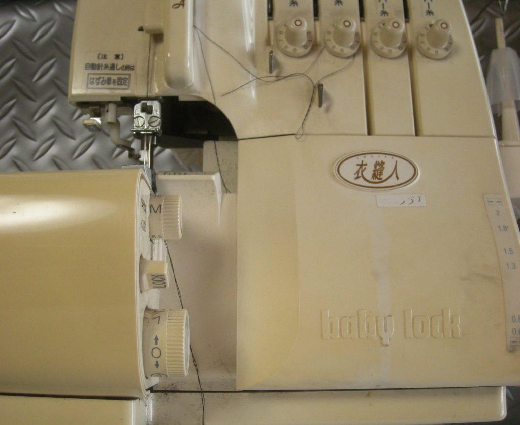 ベビーロックミシン修理|衣縫人|エアスルーで糸が通らない