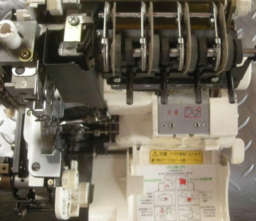 衣縫人の分解オーバーホールメンテナンス修理|ベビーロックミシン
