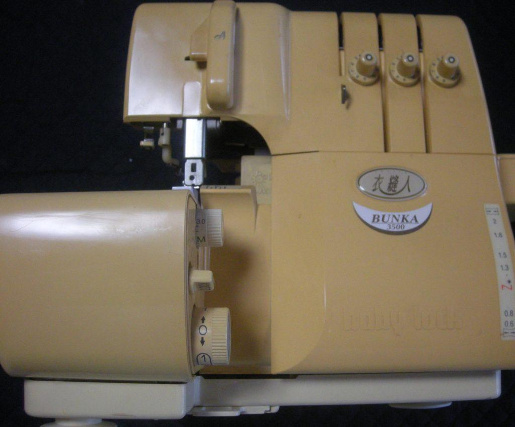 (株)ジューキbabylockミシン修理|衣縫人|BUNKA3500|はずみ車が回らない|動かない