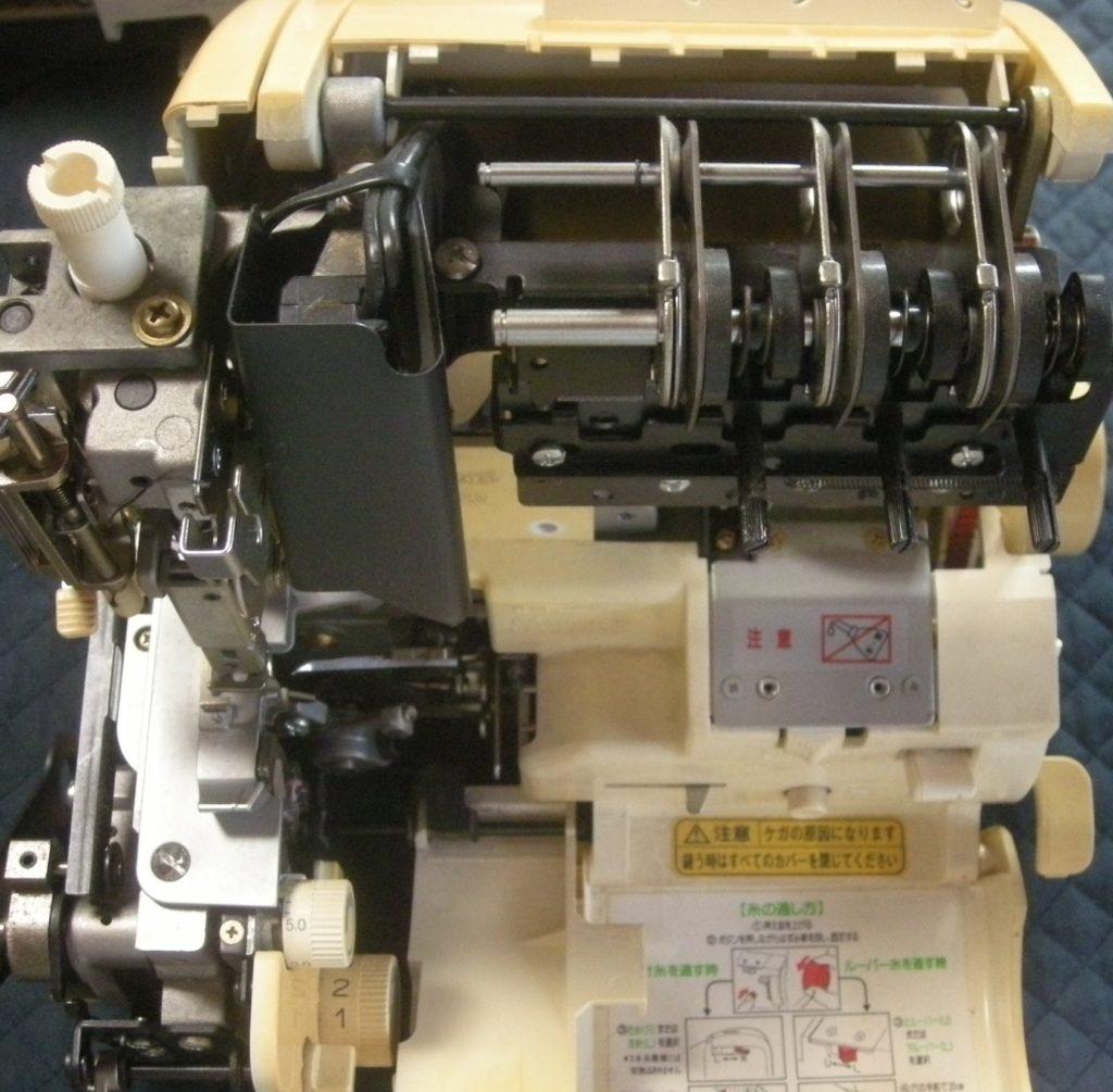 衣縫人(BUNKA3500)の分解オーバーホールメンテナンス修理|(株)ジューキbabylockミシン