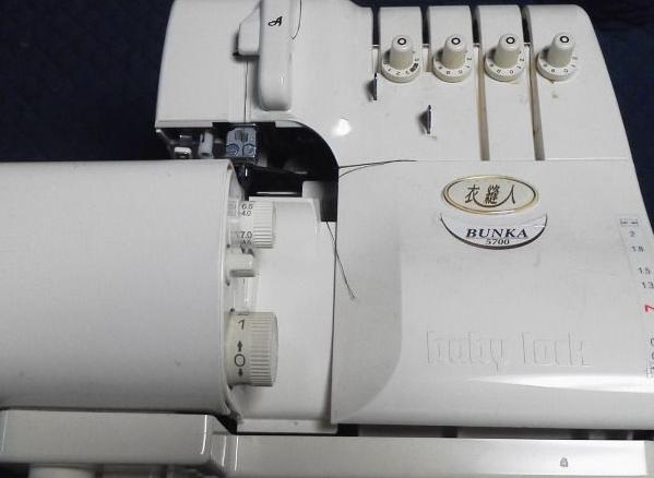 (株)ジューキbabylockミシン修理|衣縫人|BUNKA5700|動かない|全体メンテナンス
