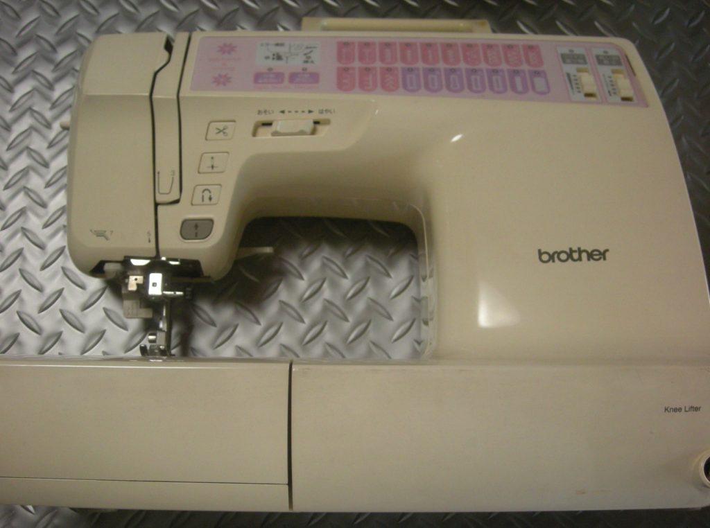 brotherミシン修理|CP970|QuiltSP|下糸が巻けない、軸が動かない