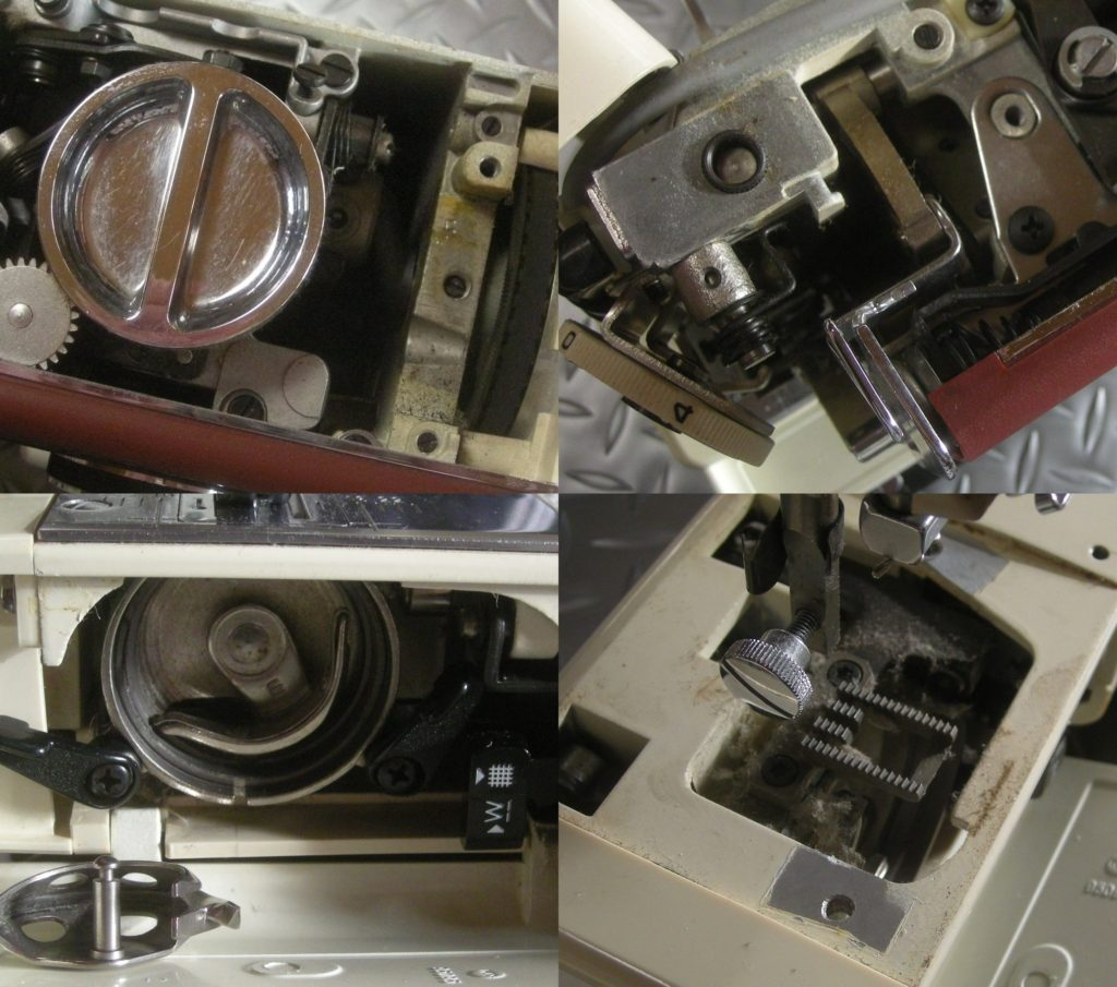 mateF-3の分解オーバーホールメンテナンス修理 JAGUARミシン