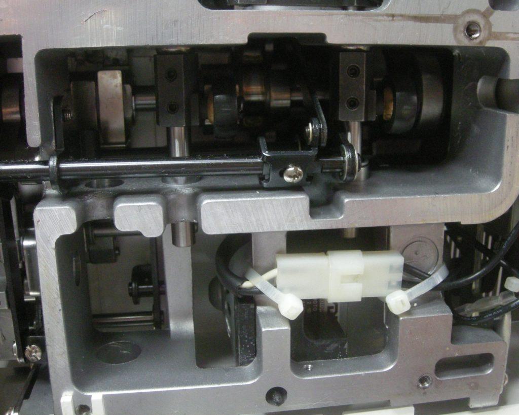 MO-114Dの分解オーバーホールメンテナンス修理|JUKIミシン