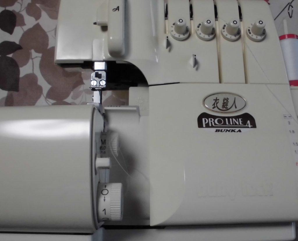 (株)ジューキbabylockミシン修理|衣縫人|Proline4|はずみ車が回らない