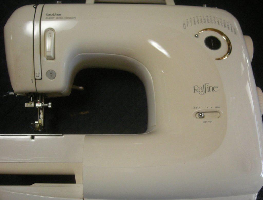 brotherミシン修理|ZZ3-B586|raffine|糸が絡まり縫えない