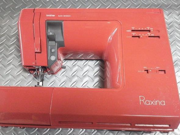 brotherミシン修理|ZZ3-B877|Raxina|縫い目がほつれる