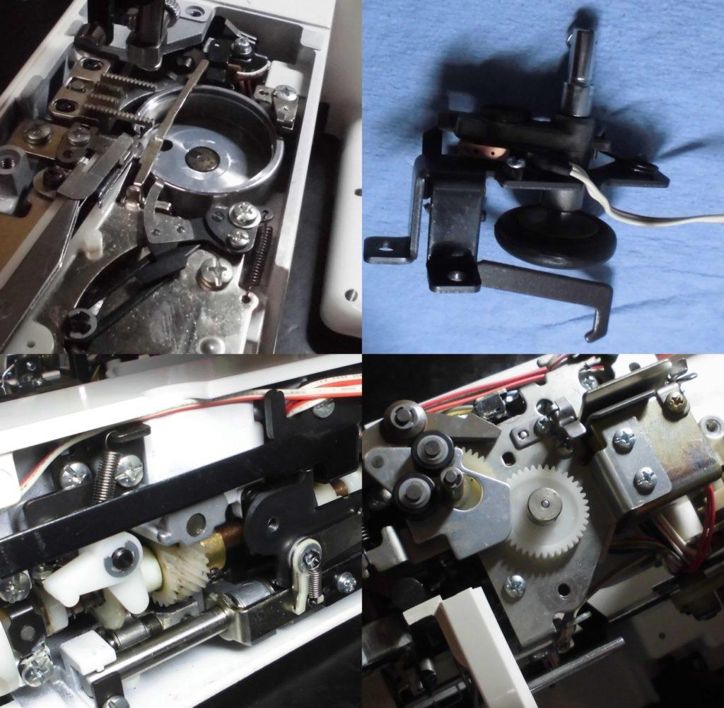 ZZ3-B896の故障、不具合|下糸が巻けない、綺麗に縫えない|目飛び