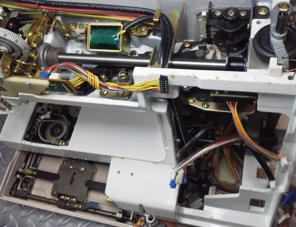 SECIO8200の分解オーバーホールメンテナンス修理|JANOMEミシン