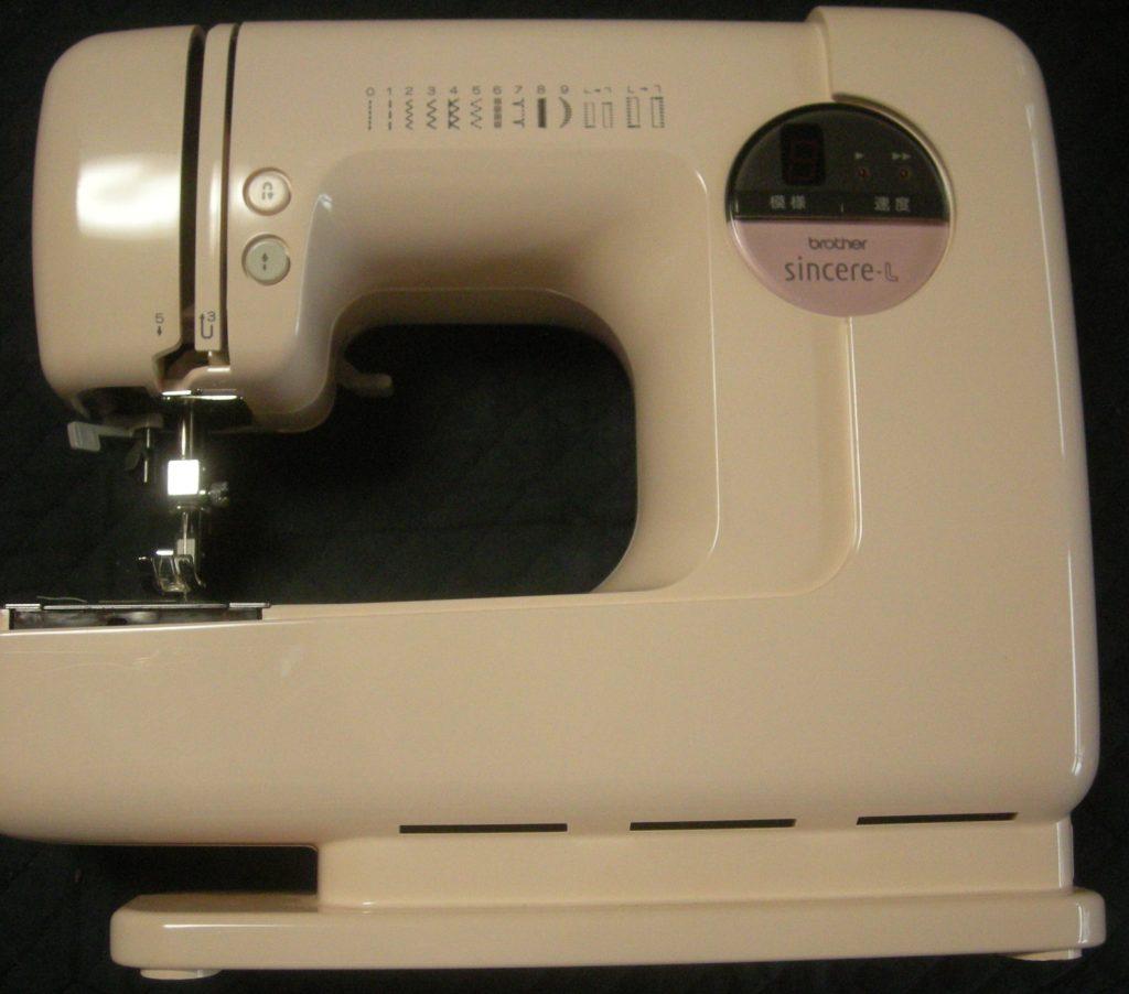 brotherミシン修理|ZZ3-B121|sincere-L|下糸をすくわず縫えない